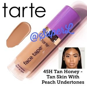 🧸 2/$15 Tarte Tarte Shape Tape Foundation 45H tan